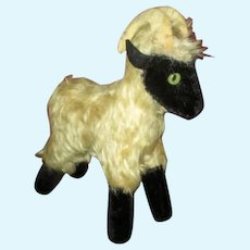 Vintage Mohair Goat for Your Doll's Companion