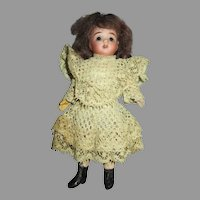 Miniature 5.5 Bisque Head Doll