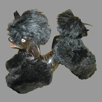 Cute Black Puppy for Your French Fashion Doll