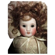 """Sweet 14.5"""" French Bisque Head Doll"""
