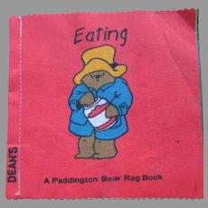 Vintage Dean's Rag Paddington Bear Rag Book