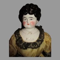 "Large 26"" China Head Doll"