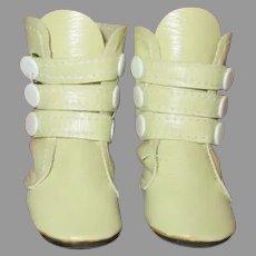 Vintage Tri-Strap Doll Boots