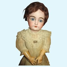 Beautiful Kestner 146 Bisque Head Doll