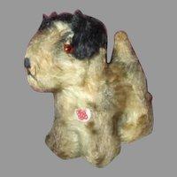 Miniature Mohair Dog for Your Doll's Companion