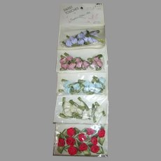 Miniature Flowers for Your Doll Bonnets, Dresses, or Houses