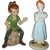Vintage Disney Peter Pan and Wendy Figurines