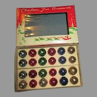 Vintage Miniature Doll House Christmas Ornaments