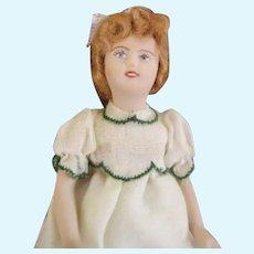 Adorable OOAK Miniature Artist Doll House Doll