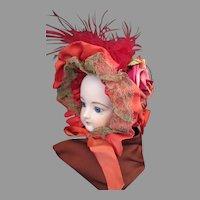 Ornate Bonnet for Your Antique Doll