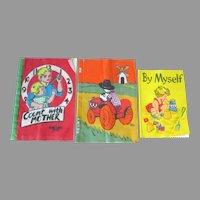 Adorable Vintage Dean's Rags Cloth Books