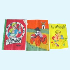 Adorable Vintage Dean's Rags Cloth Books