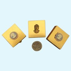 Three Tiny Trinket Boxes for Your French Fashion Dolls