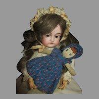Antique Bisque Head Kestner 167 Doll