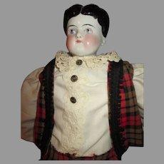 Antique China Head Boy Doll