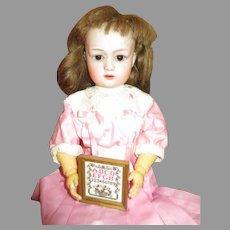 Adorable G. Heubach 8192 Bisque Head Doll