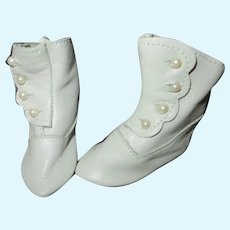 Vintage Side Button Shoes For Your French Fashion Doll