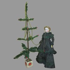 Feather Tree to Display with Your Dolls