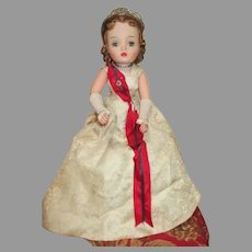 Vintage Cissy Debutante Doll