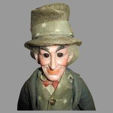 """Cuno & Otto Dressel """"Uncle Sam"""" Portrait Doll"""