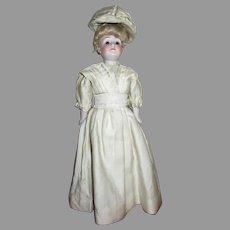 """All Original Antique 10"""" Kestner Gibson Girl Doll"""