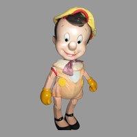 1940's Original Disney Composition Pinocchio Doll