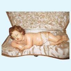 Antique Wax Jesus Doll