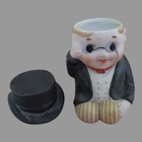 All Bisque Doll Candy Container