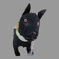 Sweet Little Black Puppy for Your Doll's Companion
