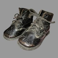 Vintage Leather Shoes for Your Doll