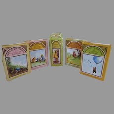 Miniature Winnie the Pooh Bear Books for Your Dolls