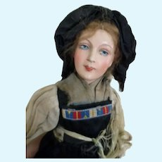 Stunning Antique French Faced Doll
