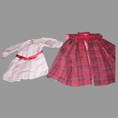 American Girl Doll Dress and Cape
