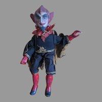Devilish French Marionette Puppet Doll