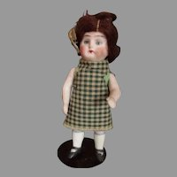 Antique All Bisque German Prize Baby Doll