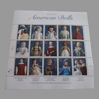 Classic American Doll Stamps