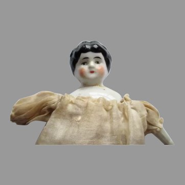 Antique Miniature China Head Doll