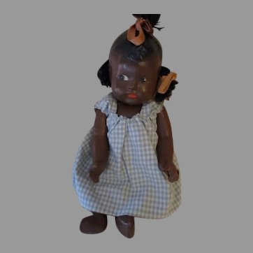 "Adorable 7"" AA Composition Bent Knee AA Baby Doll"