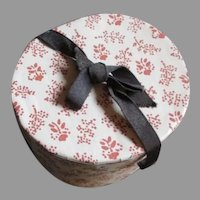 Lovely Hat Box for Your French Fashion Doll
