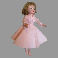 Pretty Blond Cissy Doll in Pink Outfit