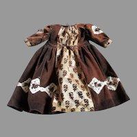 Antique Velvet Dress for Your Antique Doll