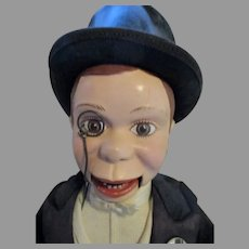 Vintage Charlie McCarthy Doll with Original Box