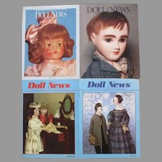 Four Doll News Magazines
