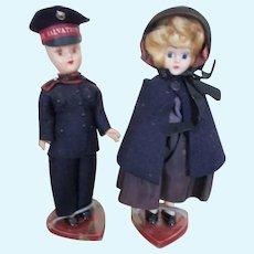 Vintage Salvation Army Dolls