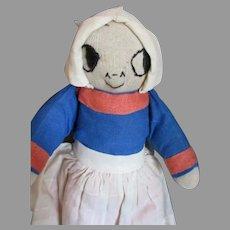 Cute vintage Stockinet Doll