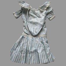 Antique Drop Waist Dress for Your Antique Doll