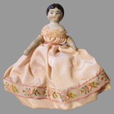 "Miniature 4"" China Head Doll"