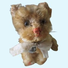 Adorable Steiff Kitty for Your Doll