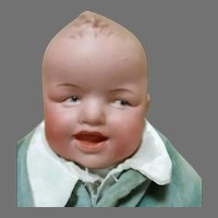 """Adorable 12"""" Laughing Heubach Doll"""