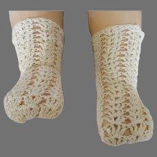 Beautiful Hand Knit Doll Stockings